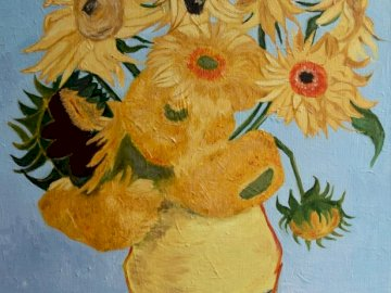 Sunflowers - Sunflowers - a painting by Vincent van Gogh.