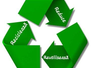 Recyceln, wiederverwenden, reduzieren - Recyceln, wiederverwenden, reduzieren.