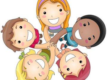 Dzieci świata - Dzieci świata - ułóż puzzle.