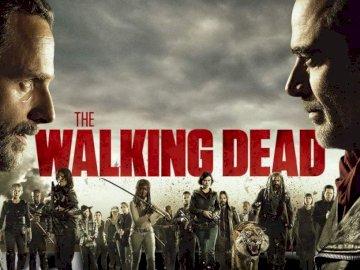 The Walking Dead - Wallpaper the walking dead temporada 8. Un hombre vestido con un disfraz.
