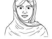 Malala la fille qui a volé des livres - Projet de 5ème année, assembler le puzzle et découvrir le nom du livre.  sdvdvdasd adsj haoei fod