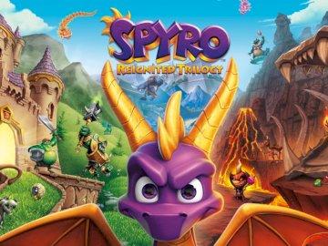 Remake jocuri video trilogia Spyro - Imagine remake trilogie Spyro.