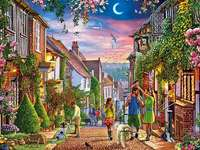 Na ulicy. puzzle online