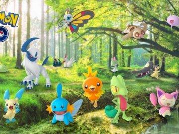 pokemon him - pokemon go puzzle. who doesn't like pokemon? because I like it.