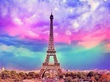 Torre eiffel,París - Si amas París y te gusta armar rompecabezas no te pierdas de la maravillosa torre eiffel el monumen