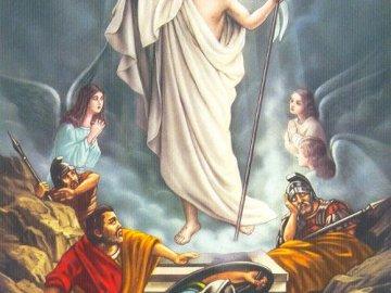 Jesús resucitado - Jesús derrota al enemigo.