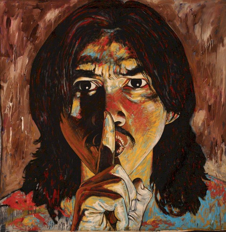 Szsz - πορτρέτο, ήσυχα, άντρας, κεφάλι. Ένα άτομο που φοράει φορεσιά (11×11)