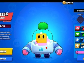 character from brawl stars - this is a character added in ubdate with attention you will learn how to relieve you. A screenshot o
