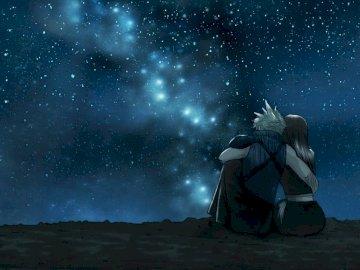 Fantasía Final - Tifa y Cloud pareja perfecta amor.