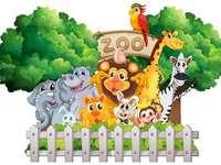 Kleuterschool in Janowicy / Thema: In de dierentuin