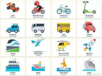 Meios de transporte - A troca de serviços e bens é uma atividade fundamental para o ser humano, como atividade comercial