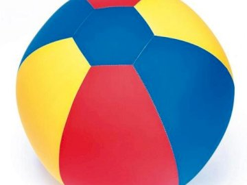 balon - Małe puzzle z balonami dla dzieci (piłka).