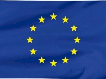 European Union flag - European Union flag - puzzle.