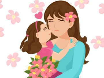 Fête des mères - Nous célébrons la fête des mères le 26 mai.