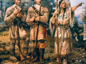 americani indiani - primo arrivo degli americani indiani negli Stati Uniti. Un gruppo di persone in posa per una foto.