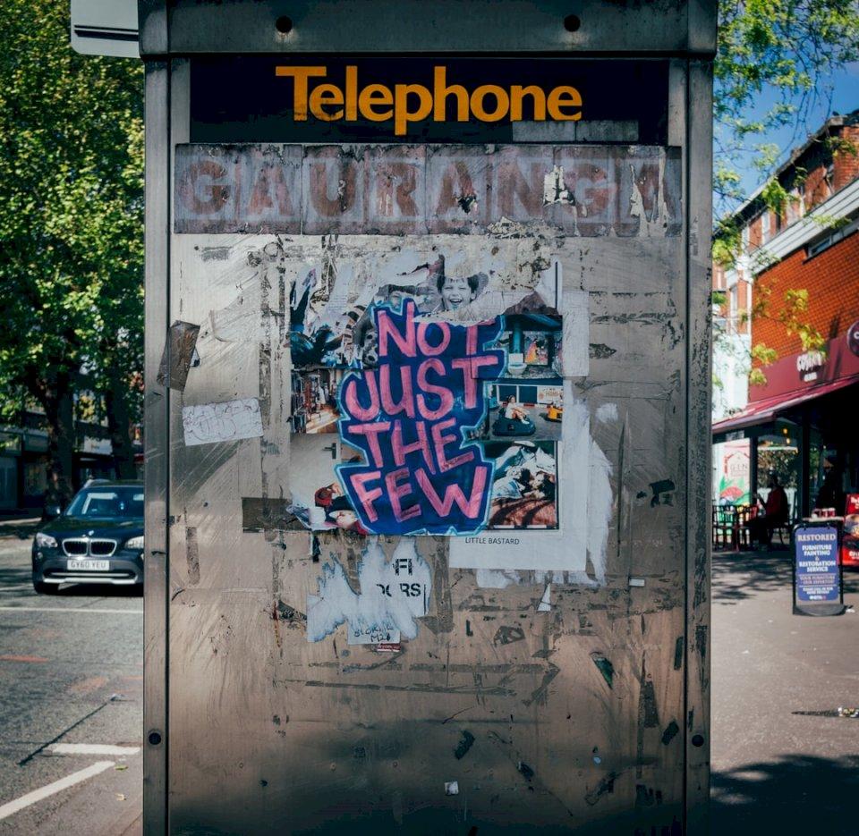 Niet alleen The Few, graffiti erin