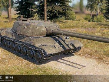 dwulufowiec - tanque de barril duplo é 3- ||. Uma arma em cima de um campo de terra.