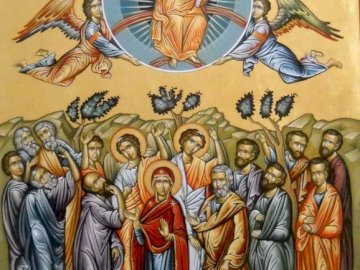 Ascension - The Ascension of the Lord into Heaven.