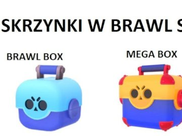 BOXES IN BRAWL STARS - I MADE GRAPHICS WITH A BOX IN BRAWL STARS. A drawing of a cartoon character.