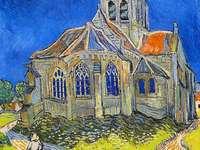 Van Gogh, Kerk te Auvers