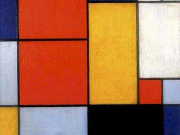 mondrian - child puzzle