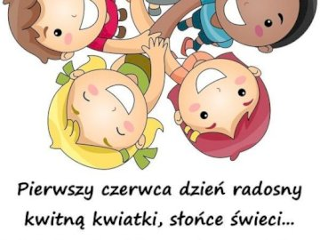 Children's Day - Arrange the puzzles. Read the wishes on Children's Day. A drawing of a cartoon character.