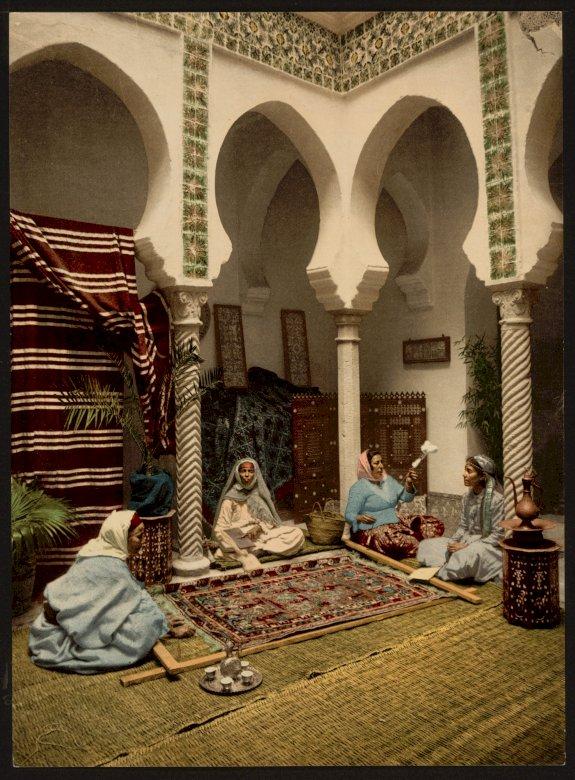 Culture arabe - Culture arabe, art arabe, scène de genre