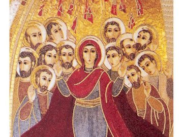 PENTECOSTE RUPNIK - LA MOSAIQUE SUR LA PENTECÔTE DU PÈRE RUPNIK