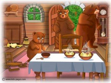 I tre orsi - La storia di Three Bears and Goldilocks