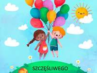 Children's Day - Children's Day. Children's Day. Puzzles for preschoolers.