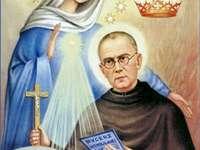 Maksymilian Maria Kolbe z Maryją