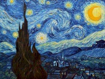 notte stellata - Van gogh dipinto, notte stellata