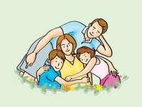 Familj - pussel