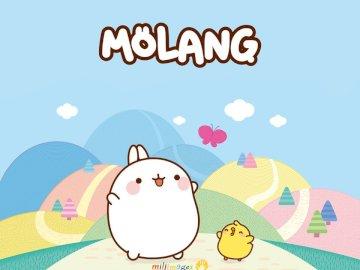 molang zajíček - molang, králíček.