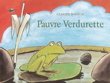 """Poor Verdurette (PS) - Realize the puzzle of the album """"Pauvre Verdurette"""". A close up of a book."""