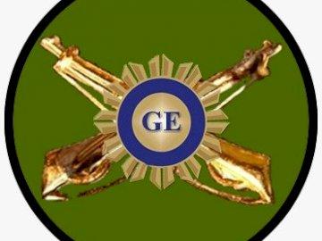 LMGE-Logo - Logo des Liceo Militar General Espejo. Um es zusammenzubauen und das Schullogo zu identifizieren.