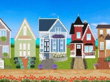 Σπίτια, εξοχικές κατοικίες, σπίτια - Σπίτια, σπίτια, μικρά σπίτια