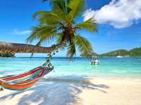 Prázdniny a pohodlné houpací sítě