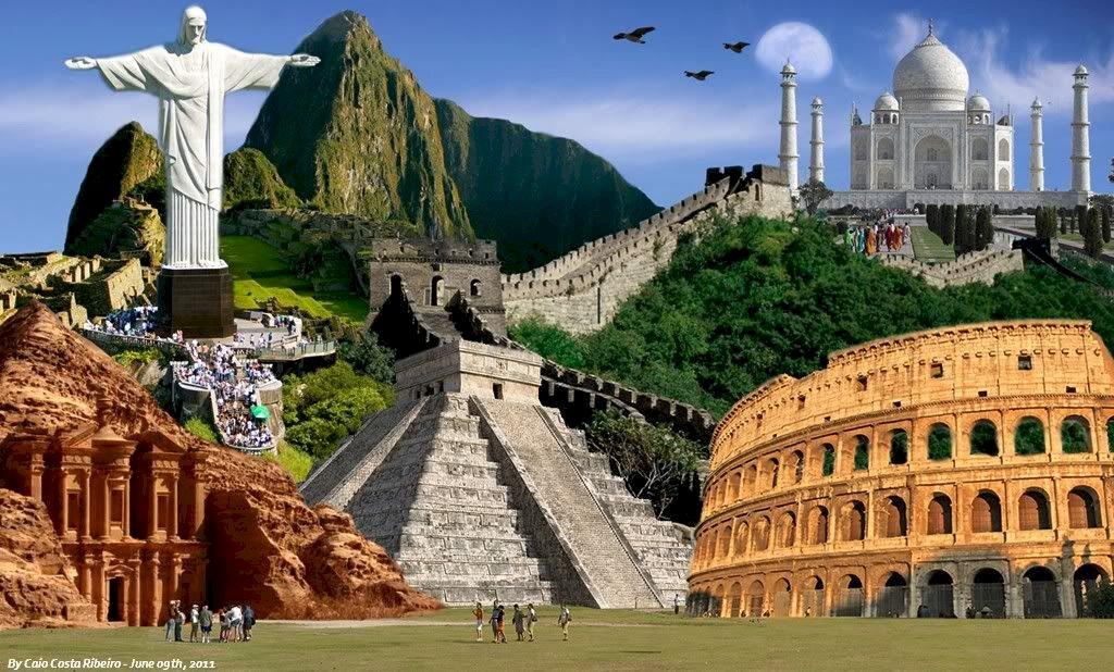 7 merveilles du monde - Sept merveilles du monde - les plus beaux bâtiments