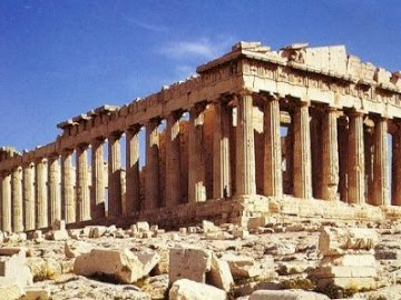 acropolis - Lecture with presentation in Greece.