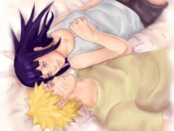 Naruto manga - Hinata and Naruto the perfect love couple.