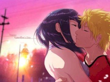 Naruto manga - Hinata and Naruto the perfect love couple