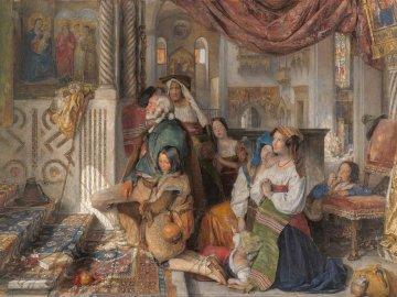 Pellegrini romani (1854) - Pellegrini romani di John Frederick Lewis (1854)