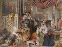 Ρωμαίοι προσκυνητές (1854)