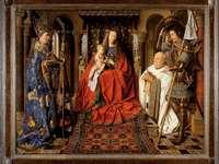 Jungfru och barn med Canon van der Paele (1434)