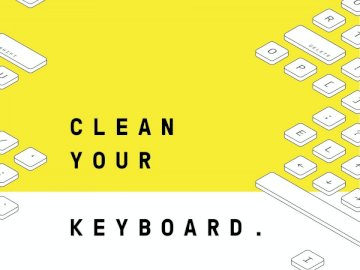 Clean Your Keyboard. Image - Clean Your Keyboard.