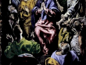 Pentecost - Greco painting puzzle