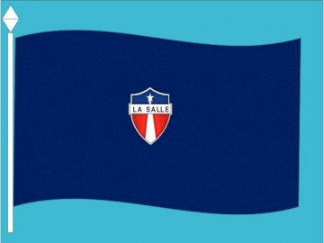 La Salle flag - Discover the image hidden in the puzzle