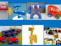 Återvunna leksaker
