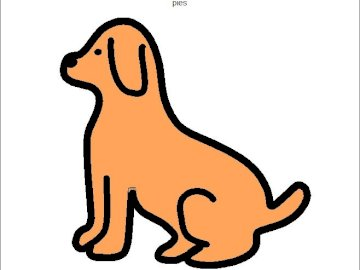 DOG symbol PCS - Compose puzzles and say what you see?